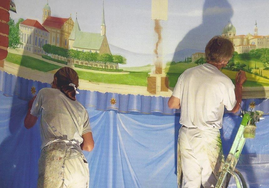 Kirchenmalerei St. Afra Berlin