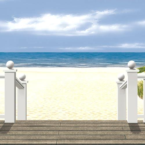 wandbild-ostsee-detail-mit-treppe