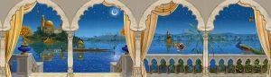 wandmalerei-therme-orientalsche-nacht