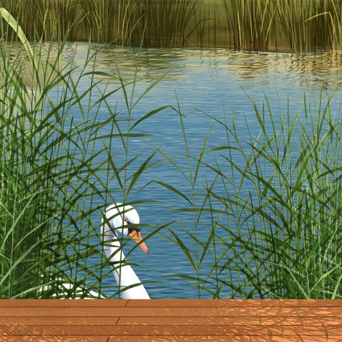 wandmalerei-schwimmbad-mit-seeblick-detail-schwan