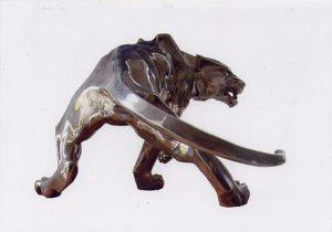 Bronzeskulptur von A.M.C. Latzke
