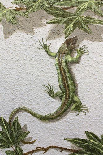 wandmalerei-detail-mit-eidechse