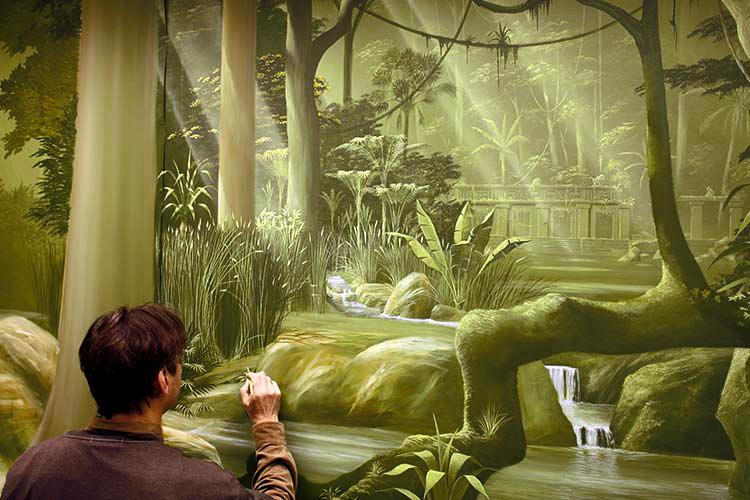 wandmalerei-illusionsmalerei-urwald