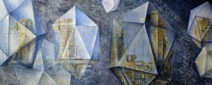 leinwandbild-kristallisation